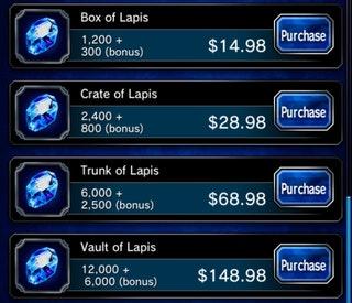 lapis pricing
